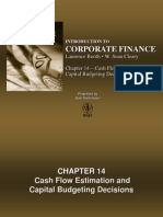 Chapter 14 - Cash Flow Estimation and Capital Budgeting Decisions