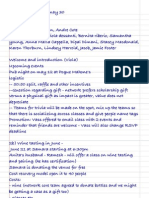 Alumni Network - May 1 2012 Minutes