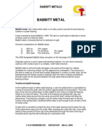 Babbit+Metal