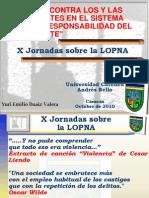X Jornadas UCAB