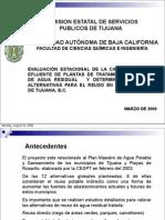 Plantas de Agua Residual y Alternativas Para El Reuso - Guillermo Rodriguez
