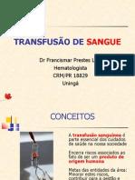 Aula Transfusão