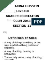 Adab Presentation