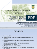 Reutilizacion de Aguas Grises -  Fabiola Hernandez