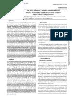 Los Virus Influenza y La Nueva Pandemia AH1N1