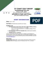 2012 WCGG Pro-Am Details