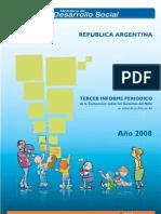 Tercer Informe Periódico de la Convención de los Derechos del Niño 2008