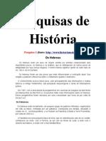 Pesquisas de História