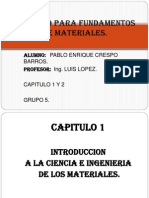 Trabajo Para Fundamentos de Materiales