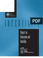 Varicocele and Infertility