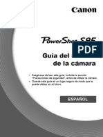 Manual Canon PowerShot S95