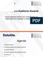 Avaliação e auditoria atuarial