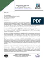 PRONUNCIAMIENTO ESCUELA DE BIOLOGIA UCR sobre TECOCOS