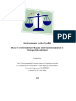 Environmental Justice Toolkit, Volume 1