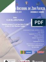 Poster 2da Fuerza Baja