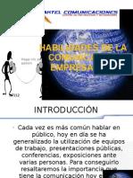 HABILIDADES DE LA COMUNICACIÓN EMPRESARIAL CLASE 1