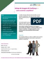 Workshop de Imagem e Confiança - como construir o equilíbrio