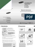 Manual Samsung Ht XQ100 TXQ100 XAX
