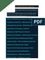 Consult Ores de Marketing Para Empresas