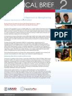 West Africa's Regional Approach Strengthening Health Workforce Information