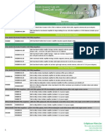 2011 Product Pricing Table 7-15-2011