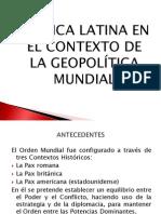 Am+®rica Latina en el Contexto de la Geopol+¡tica