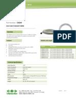 CM240 Cable Datasheet