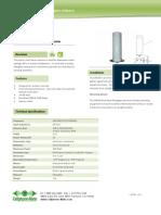 CM288 Dualband Fiberglass Antenna Datasheet