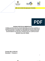 Formulación del plan de acción regional de lucha contra la desertificación de suelos e implementación de prácticas de prevención y control de erosión en 14 municipios del departamento de Boyacá jurisdicción de Corpochivor