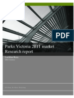 Parks Vic Market Research