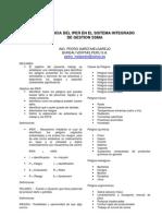 Ing. Pedro Gardi Import an CIA Del Iper en El Sistema Integrado de Gestion Ssma