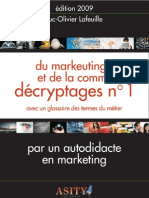 ASITY - Décryptages numéro 1 du Marketing et de la Communication