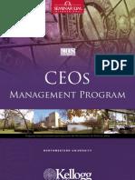 CEOs Management Program - Kellog School of Management