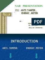 Anti Tamper Device