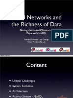 FabrizioSchmidt and LarsGeorge Social Networks and the Richness of Data Getting Distributed Web Services Done With No SQL