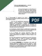 PL Q TORNA OBRIGATÓRIA EXECUÇÃO DE EMENDAS PARLAMENTARES