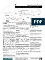 Hoja Técnica del Colchon Reno 10x12 2 70mm (Galfan+PVC) -0 50m