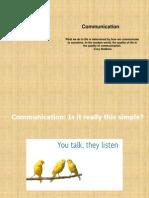 Communication 5-7-2012