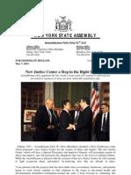 Justice Center Press Release