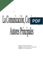 Corrientes de la comunicación