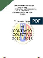 VI_CONVENCION_COLECTIVA_2011-2013