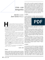 Entrevista a Jorge Ibargüengoitia