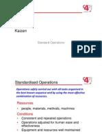 5.4 Standard Operations
