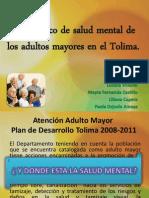 Diagnostico de Salud Mental de Los Adultos Mayores