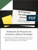 Direccion y Gestion de ProyectosDOMINGO1