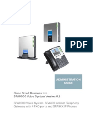 Spa9000 Voice System v6-1 Ag Nc-web | Session Initiation