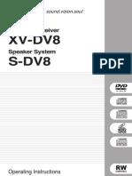 DVDPIONEER XV-DV8