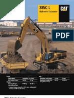 CAT 385C L Hydraulic Excavators