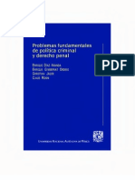 003.- Problemas Fundamentales De Politica Criminal Y Derecho Penal - Roxin, C_ Jager, C_ Díaz Ara