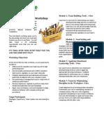 ExeQserve Manager's Tool Box Workshop Registration
